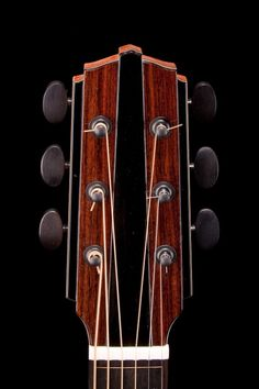 Gustav Fredell Guitars headstock