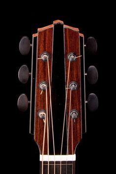 Gustav Fredell guitars - headstock