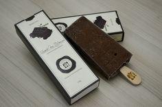 Picolé Chocolate Meio Amargo Vegano Packaging Ice Cream Design Packaging Design…