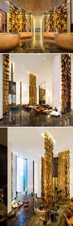 W Hotel Guangzhou's_Interior Design_Living Room by Yabu Pushelberg: