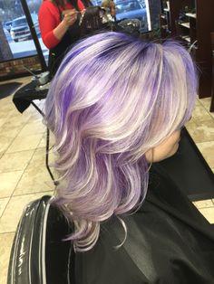 Purple roots