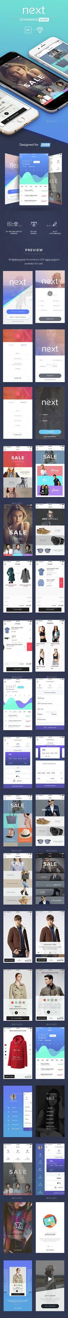 Next E-commerce UI Kit (User Interfaces)