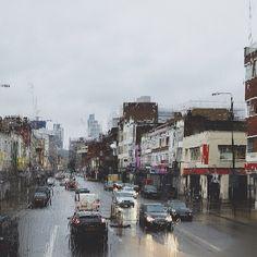 Rainy Sunday in London
