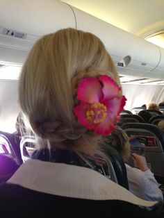 ..Braid with a twist and a flower