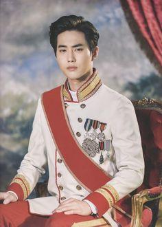 Suho - 181218 Musical 'The Last Kiss' Photobook >> he really is a prince Baekhyun, Exo Minseok, Kim Jongdae, Exo Ot12, Chanbaek, Exo Kai, Park Chanyeol, Chen, Kris Wu