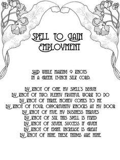 Employment spell