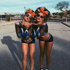 Cute all star cheerleading uniforms