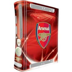 Official Licensed Football Product Arsenal Xbox 360 Console Skin Red Crest New Cardio Machines, Xbox 360 Console, New Video Games, Arsenal Fc, Arsenal Football, English Premier League, Xbox Games, Best Player, Gaming Computer
