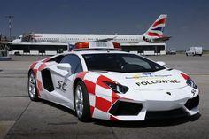 Lamborghini Aventador, el nuevo Follow Me del aeropuerto de Bolonia