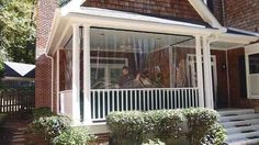 Diy how to winterize enclose your porch with clear vinyl diy 30 mil clear patio enclosure panels clear glass vinyl fire retardant choose size solutioingenieria Gallery
