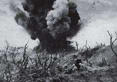 Ex-blow-up-tion on Iwo-Jima