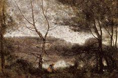 "Camille Corot, ""Ville d'Avray,"" 1870"