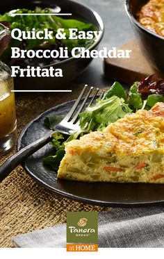 Made with our Broccoli Cheddar Soup, you can pair this easy frittata with a salad for a weeknight dinner or let it be the star of your Sunday brunch.  Rich flavor, just a few ingredients and so versatile. Tap the Pin to see the recipe.