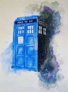 40 Gorgeous Tattoos That Will Boost Your Confidence Overnight Tardis watercolor Doctor Who Poster, Doctor Who Art, Doctor Who Quotes, Doctor Who Tardis, Azul Tardis, Tardis Art, Tardis Door, Tardis Drawing, Tardis Tattoo