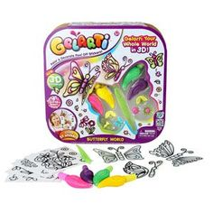 Gelarti Butterfly World from Moose Toys Moose Toys, Paint Pens, New Toys, Daughters, Kids Toys, Cool Photos, Butterfly, Cool Stuff, World