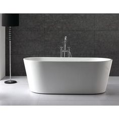 Alsace 32 x 67 Oval Acrylic Freestanding Soaking Bathtub   Soaker Tub with  Center Drain   SearsFreestanding Bathtub   RONA Bathroom Event on now   Bathroom Reno  . Free Standing Tub Canada. Home Design Ideas