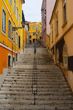 Lisbon, Lisbon, Portugal - I love the beautiful roads and alleys of...