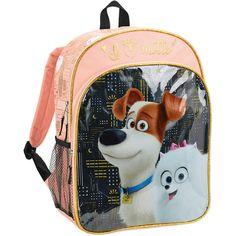 Secret The Life of Pets City Lights Kids' Backpack, Kids Unisex, Size: 16 inch, Pink Backpacks For Sale, Cute Backpacks, School Backpacks, School Tote, School Bags, Secret Life Of Pets, The Life, Pet Accessories, Fashion Backpack