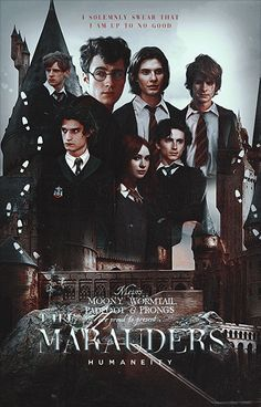 Mundo Harry Potter, Harry Potter Puns, Harry Potter Marauders, Fanart Harry Potter, Harry Potter Cast, Harry Potter Universal, Harry Potter World, Harry Potter Hogwarts, The Marauders