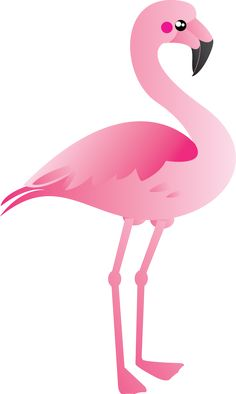 elegant pink flamingo clip art binatang pinterest pink rh pinterest com flamingo clip art pictures flaming clipart