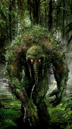 Man Thing by John Gallagher <-- Before anyone tells me this isn't MCU, Man-Thing was mentioned by name in a Season 1 episode of Agents of SHIELD