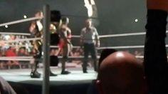 Roman Reigns:incidente imbarazzante durante il live event a Dublino