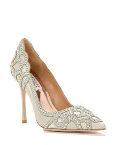ROUGE evening shoes by Badgley Mischka, now available at the official website. Free shipping, exchanges, and returns.