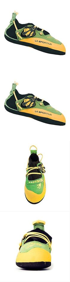 Youth 158980: La Sportiva Stickit Kid S Rock Climbing Shoe, Green, 34 35 M Us New -> BUY IT NOW ONLY: $65.49 on eBay!