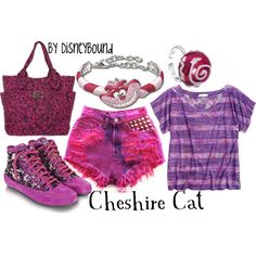Cheshire Cat (Alice in Wonderland) longer pants though Alice In Wonderland Outfit, Cheshire Cat Alice In Wonderland, Wonderland Costumes, Boogie Wonderland, Disney Themed Outfits, Disney Dresses, Disney Clothes, Chesire Cat, Disney Inspired Fashion