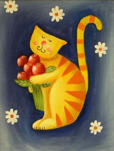 Jo Parry Cat Art♥•♥•♥ https://www.google.es/blank.html