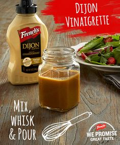 Who knew making your own salad dressing could be so easy… And so delicious! Salad Dressing Recipes, Salad Recipes, Salad Dressings, Dip Recipes, Cooking Recipes, Healthy Recipes, Cooking Hacks, Delicious Recipes, Healthy Snacks