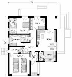 My House Plans, High Rise Building, Planer, Ariel, New Homes, Floor Plans, Construction, How To Plan, House Styles