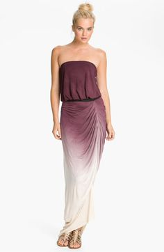 Young, Fabulous & Broke 'Tania' Strapless Dress available at #Nordstrom... my style