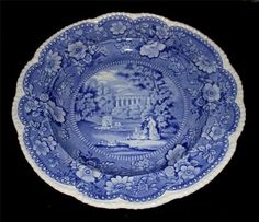 Awwwwesome 10.5 in diameter dinner plate!!! Would make a fabulous display in your French blue/white kitchen and/or dining room!!!! Could use this great large size as a serving dish too!!
