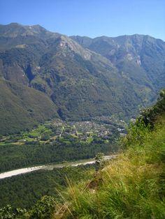 #Gordevio - Vista da Dunzio | Aussicht von Dunzio | View from Dunzio #Vallemaggia #Tessin #Ticino