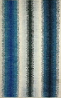 Rugs USA Aurora I Flatwoven Ombre Stripes Blue Rug, area rugs, style, home decor, pattern, trend, home decor, house, home, interiors, pretty, inspire, chic, discount,