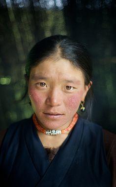 Nomadic Tibetan Woman