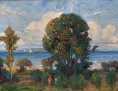 Rowanberry Tree Thorolf Holmboe 1866-1935