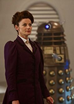 Missy with the Daleks!