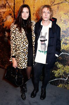 Spotted in Coach: Jamie Campbell Bower wearing the Emmanuel Hare Ray Intarsia Sweater and Matilda Lowther wearing the Le Fauve Peacoat and Swagger Bag at the presentation (Photo credit: Getty Images) Cheap Coach Purse Handbags Bags Online Shopping, Discount Shopping, Online Bags, Shoes Online, Trendy Fashion, High Fashion, Women's Fashion, Jamie Campbell Bower, Latest Bags