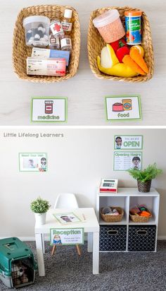 Printables for Vet Clinic Dramatic Play area | Early childhood play ideas | Imaginative play for Toddlers, Preschoolers, Kindergarten and Foundation students | Printable signs, labels and forms for early writing and play in the classroom or at home | Australian teachers and parents |