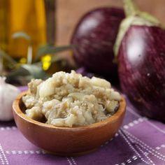 Purée d'aubergines à la ricotta et au parmesan