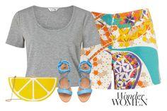 """Wonder women"" by peppermintdm on Polyvore featuring мода, Trina Turk, Miss Selfridge и Jessica McClintock"