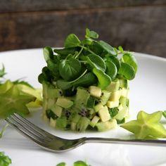 Avocado Watercress Salad HealthyAperture.com