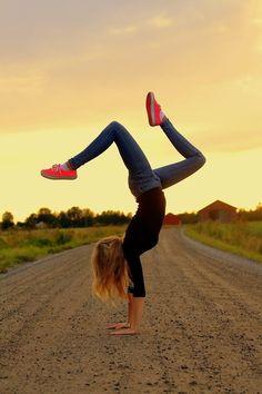 Express yourself through gymnastics!!