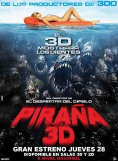 Piraña 3D - online 2010