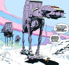 brianmichaelbendis:  Star Wars by Al Williamson