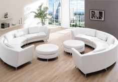 The post Awesome 43 Classy Curved Leather Sectional Sofa Ideas. 2019 appeared first on Sofa ideas. Leather Sectional Sofas, Sectional Furniture, Pallet Furniture, Living Room Furniture, Modern Furniture, Furniture Design, Lounge Furniture, Modern Sofa, Sofa Design