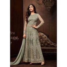 4dfa1d94750 Net Pista color Embroidery Designer Salwar suit Net Pista color Embroidery  Designer Salwar suit Anarkali Suit Top - Net Bottom - Santoon Inner -  Santoon ...