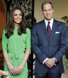 Britains' Prince William And His Wife Catherine Duchess Of Cambridge